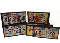 License Plate Sign License Plate letter Art Picture Home Deco LOVIN LIFE License Plate Letter Sign License Plate Art