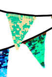 Sequin Bunting - Multi-colour