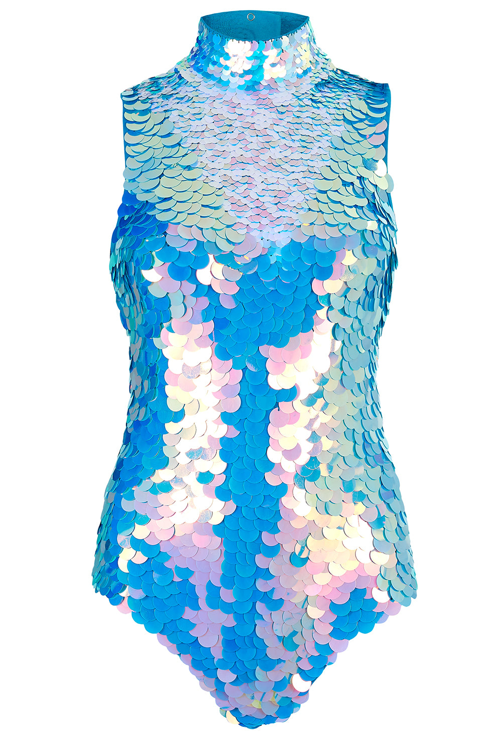 FIFI SEQUIN LEOTARD - MOONRISE