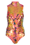 FIFI SEQUIN LEOTARD - SOLAR