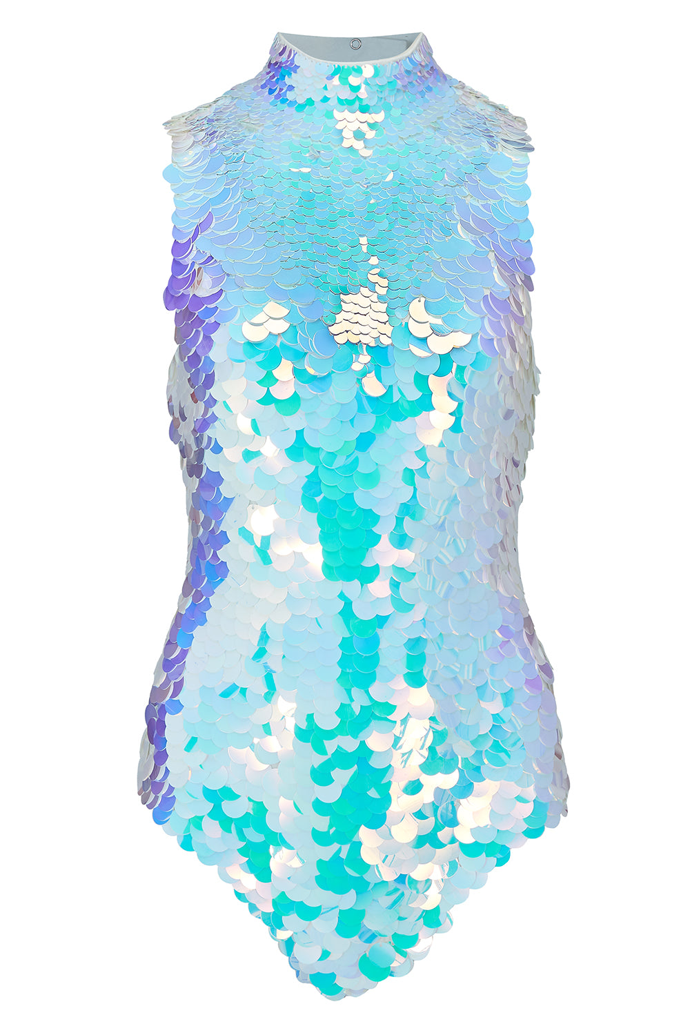 FIFI SEQUIN LEOTARD - OPAL