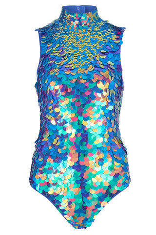 FIFI SEQUIN LEOTARD - JEWEL