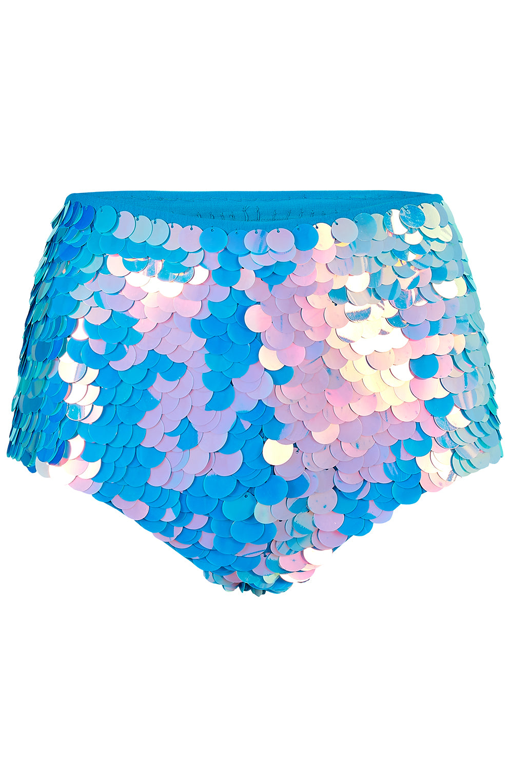 GIGI SEQUIN HOTPANTS - MOONRISE