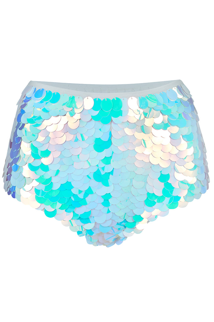 GIGI SEQUIN HOTPANTS - OPAL