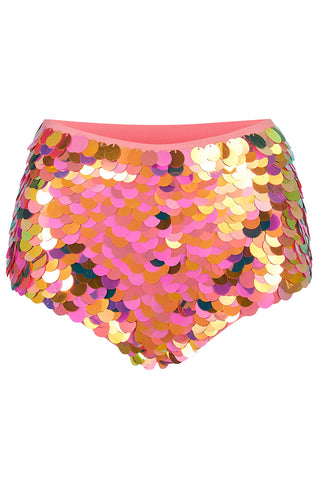 GIGI SEQUIN HOTPANTS - SOLAR