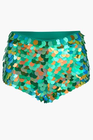 GIGI SEQUIN HOTPANTS - AMAZON