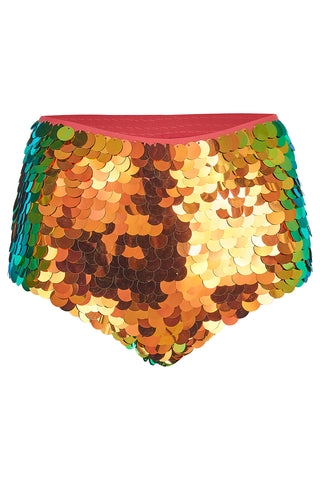 GIGI SEQUIN HOTPANTS - BLAZE '18