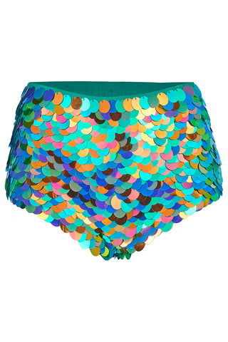 GIGI SEQUIN HOTPANTS - KALEIDOSCOPE