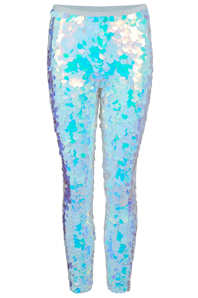 INDUS SEQUIN LEGGINGS - OPAL