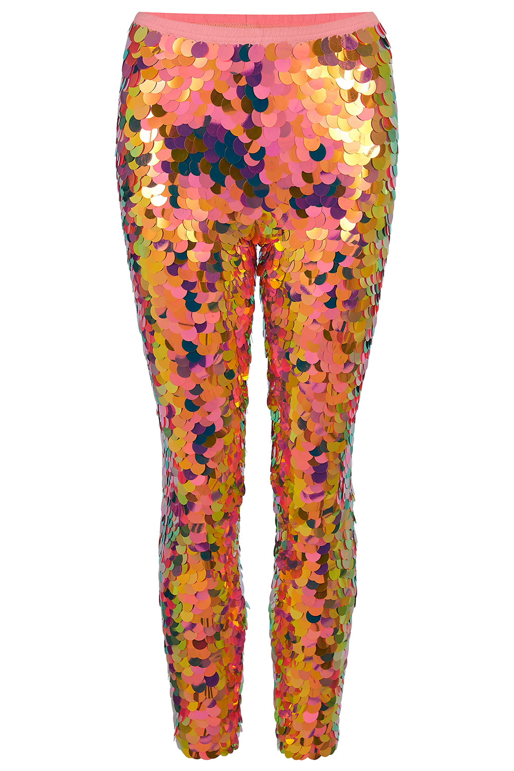 INDUS SEQUIN LEGGINGS - SOLAR