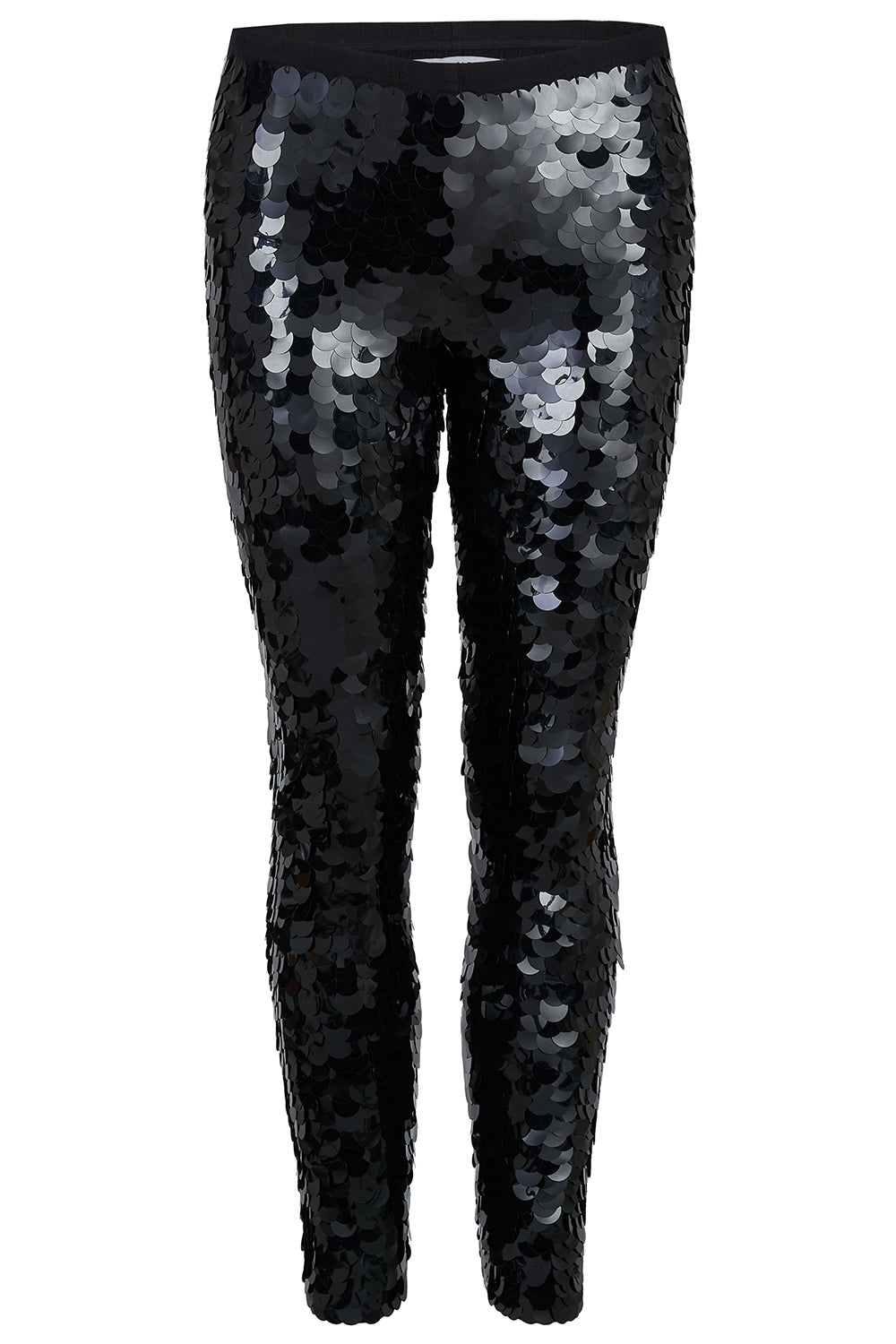 INDUS SEQUIN LEGGINGS - BLACK