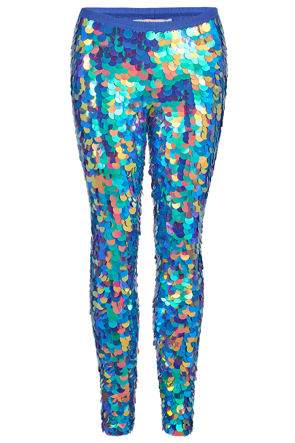 INDUS SEQUIN LEGGINGS - JEWEL
