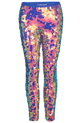 INDUS SEQUIN LEGGINGS - ORCHID '18