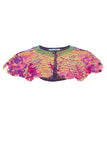 INTI SEQUIN CAPE - FLAMINGO
