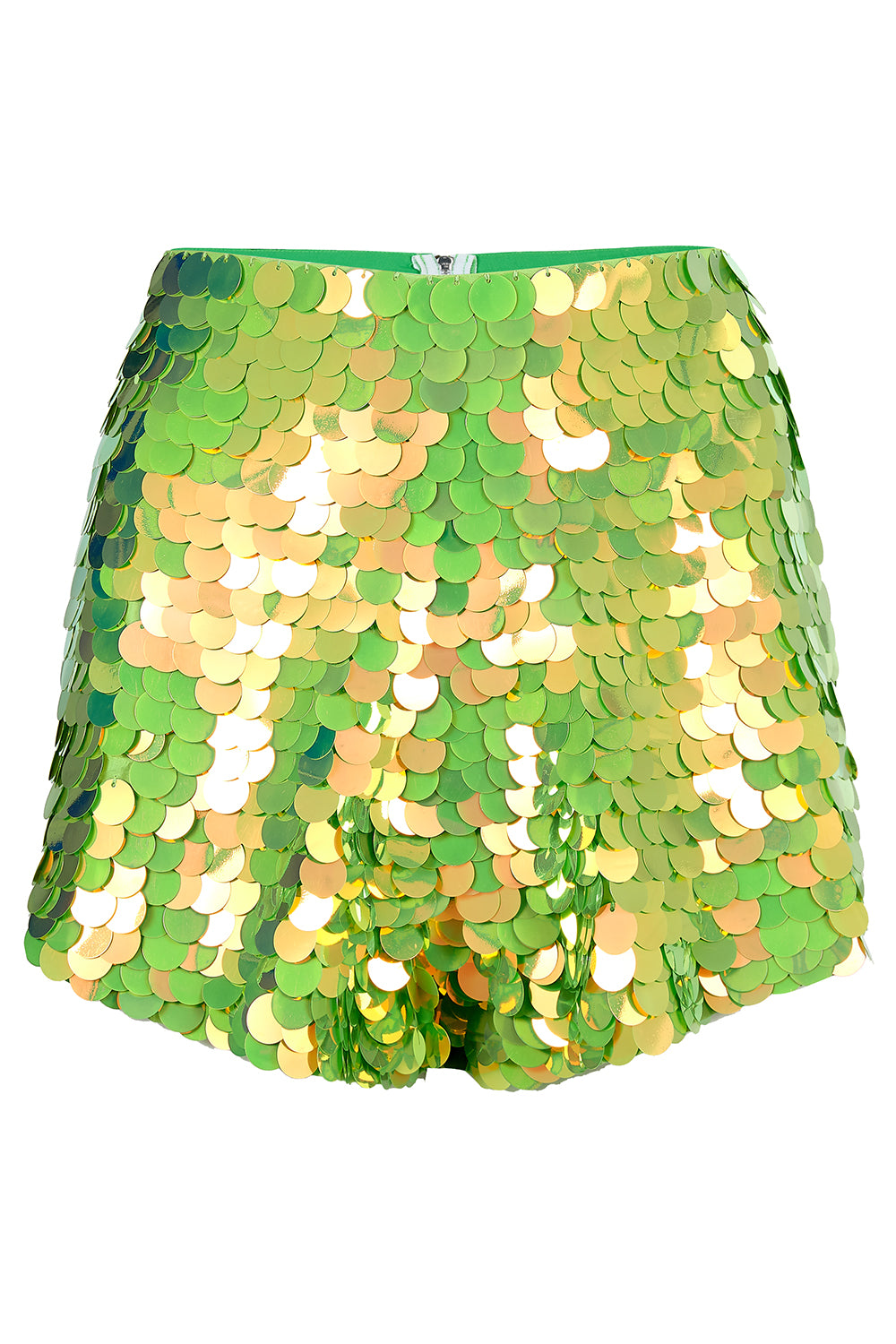 JUNO SEQUIN SHORTS - ANGELICA