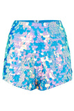 JUNO SEQUIN SHORTS - MOONRISE