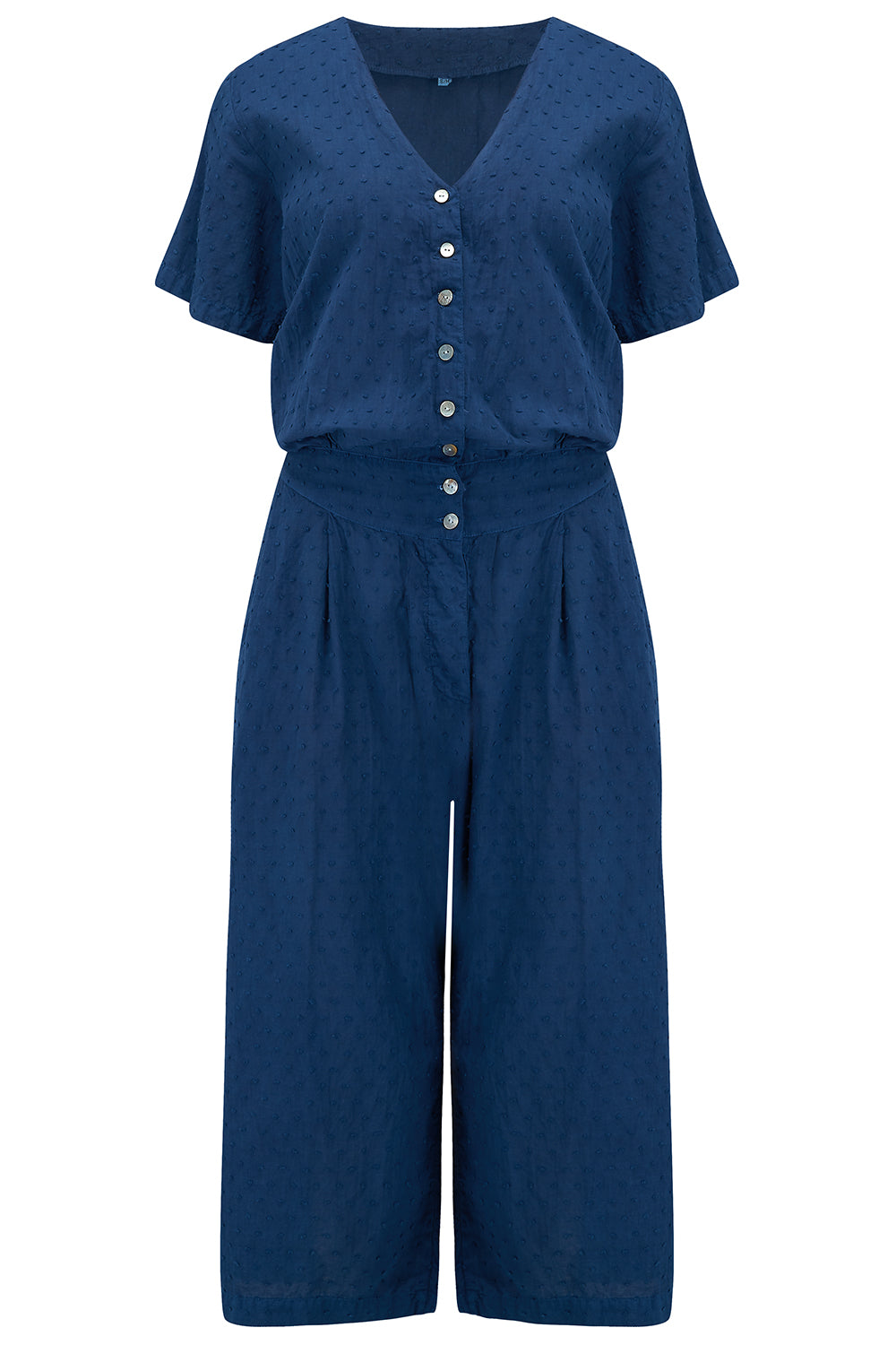 KEPSI JUMPSUIT - NATURAL INDIGO