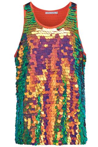 JUPITER MENS SEQUIN VEST - BLAZE '17