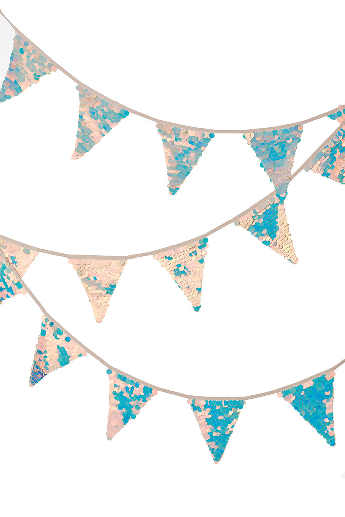 Sequin Bunting - Opal