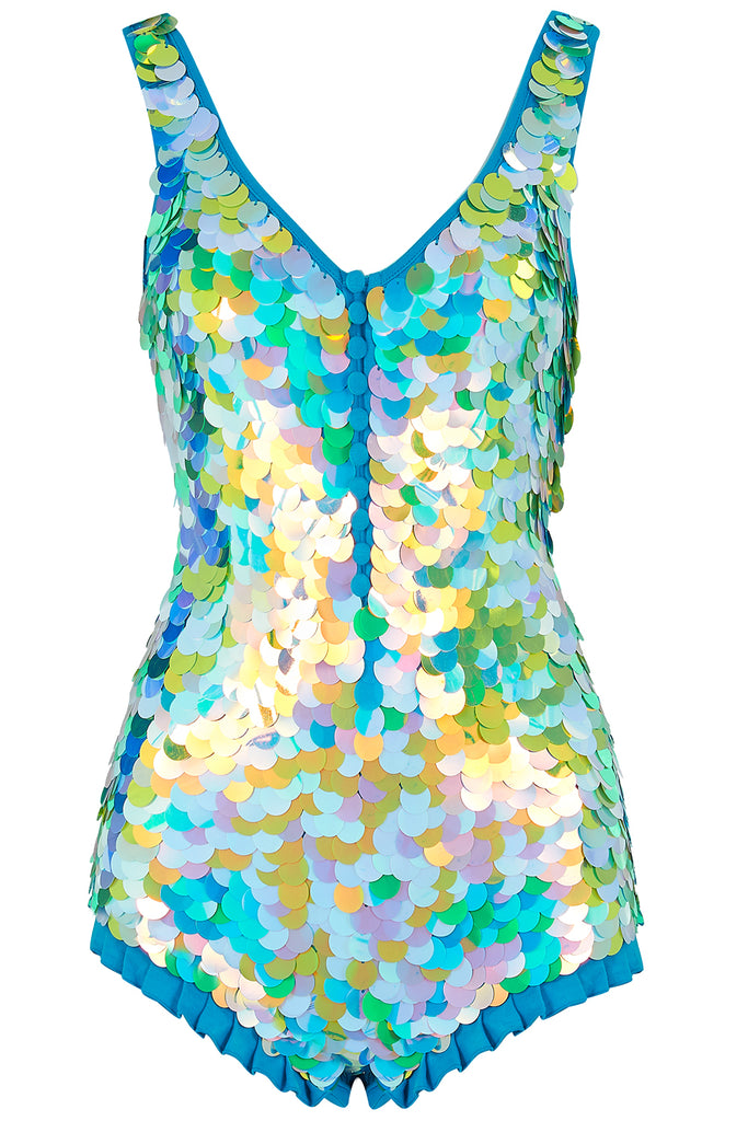 SEA CIRCUS SEQUIN PLAYSUIT - DAYDREAM
