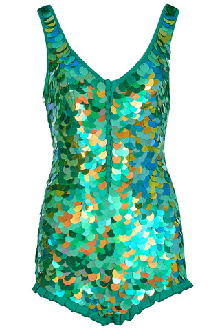 SEA CIRCUS SEQUIN PLAYSUIT - AMAZON