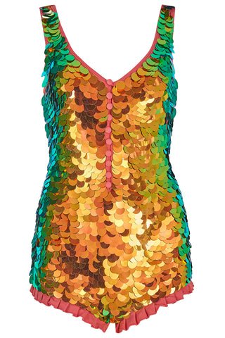 SEA CIRCUS SEQUIN PLAYSUIT - BLAZE '18