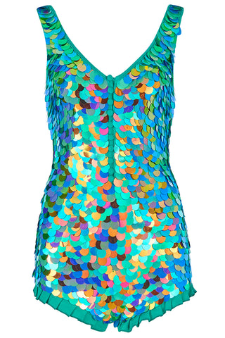 SEA CIRCUS SEQUIN PLAYSUIT - KALEIDOSCOPE