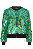 SUPERNOVA SEQUIN BOMBER JACKET - AMAZON