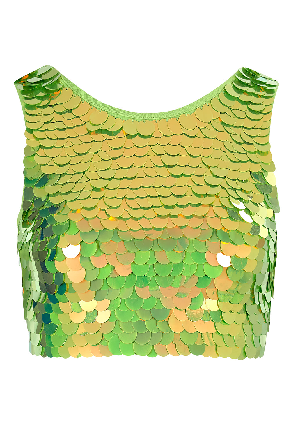 TWINKS SEQUIN CROP TOP - ANGELICA