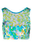 TWINKS SEQUIN CROP TOP - DAYDREAM