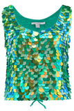 TILLY SEQUIN CAMISOLE - AMAZON
