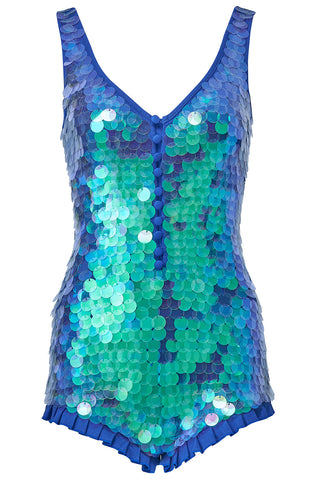 SEA CIRCUS SEQUIN PLAYSUIT - MERMAID