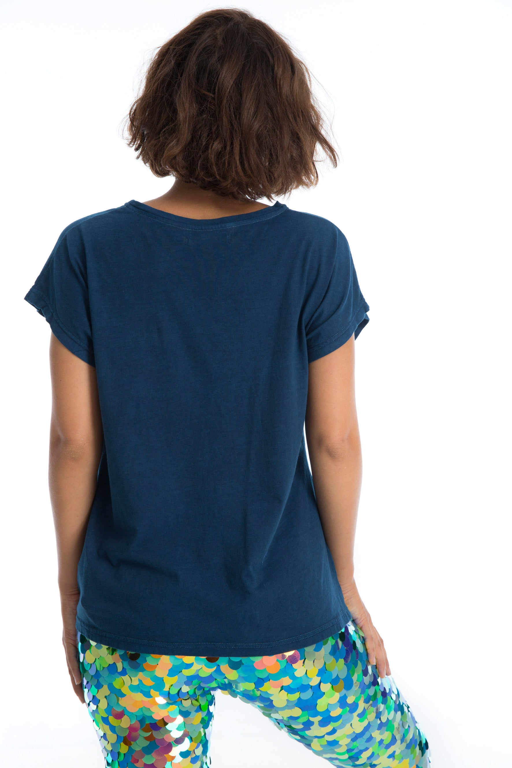 SAM T-SHIRT - NATURAL INDIGO