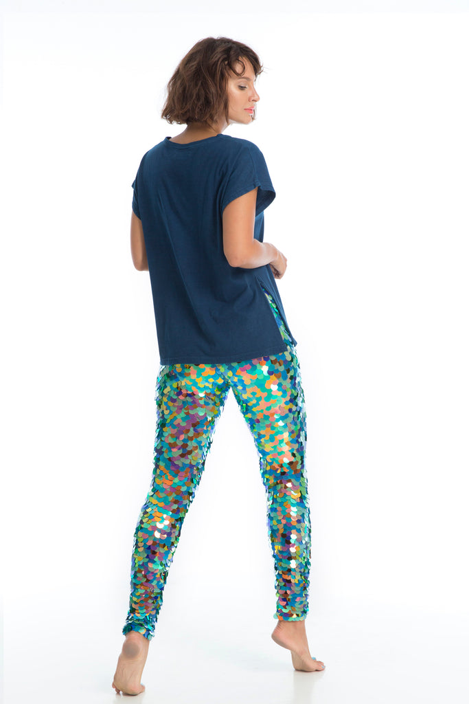 INDUS SEQUIN LEGGINGS - KALEIDOSCOPE