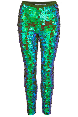 INDUS SEQUIN LEGGINGS - JUNIPER