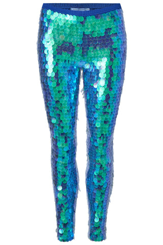 INDUS SEQUIN LEGGINGS - MERMAID