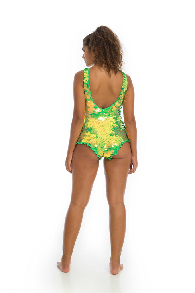 SEA CIRCUS SEQUIN PLAYSUIT - ANGELICA