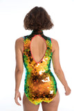 FIFI SEQUIN LEOTARD - BLAZE '18
