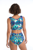 GIGI SEQUIN HOTPANTS - JEWEL