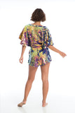 MELLA CAPE PLAYSUIT - ORCHID '18