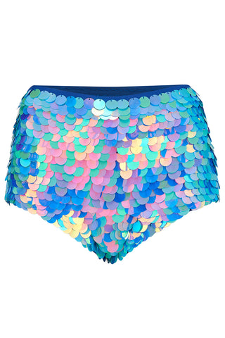 sequin shorts rosa bloom