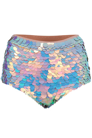 GIGI SEQUIN HOTPANTS - ROSE