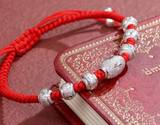 Red Asian Good Luck Bracelet