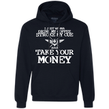 just-wanna-drink-coffee-wht Heavyweight Pullover Fleece Sweatshirt