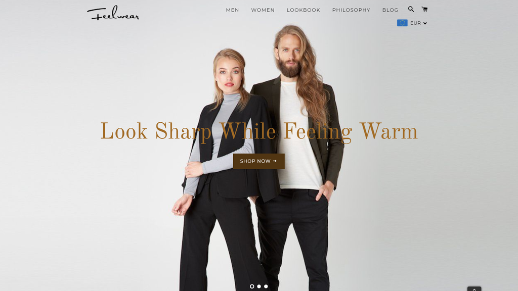 Feelwear online store finalist at the Baltic e-commerce awards