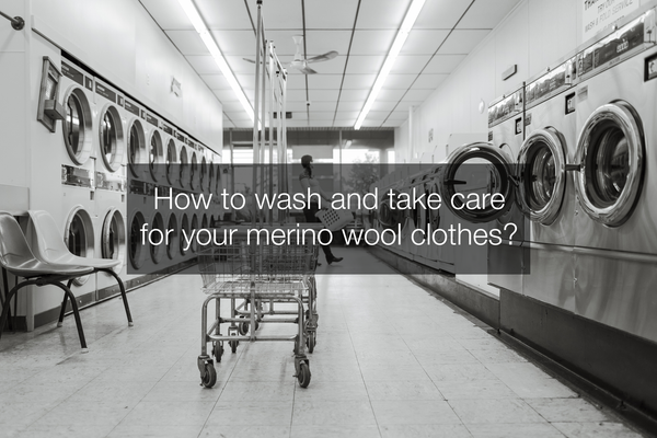 How to wash and take care for your merino wool clothes