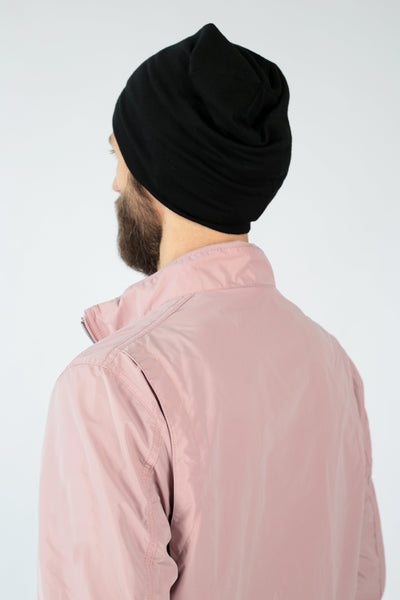 Black merino hat-Accessories-Feelwear
