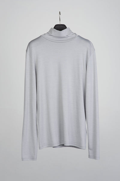 Slim-fit turtleneck sweater in merino-T-Shirts-Feelwear