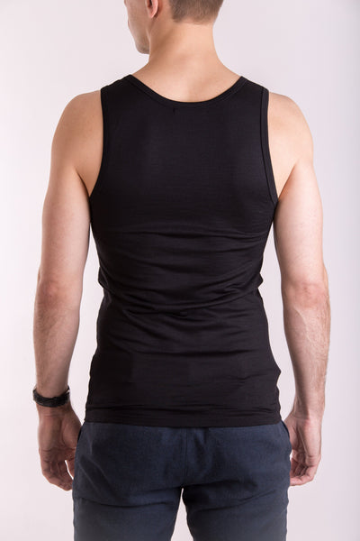Men's tank top in merino-T-Shirts-Feelwear