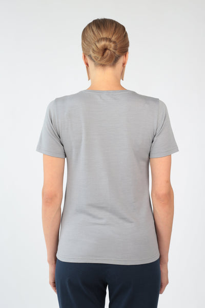 "T-shirt ""Geometry"" in merino-T-Shirts-Feelwear"
